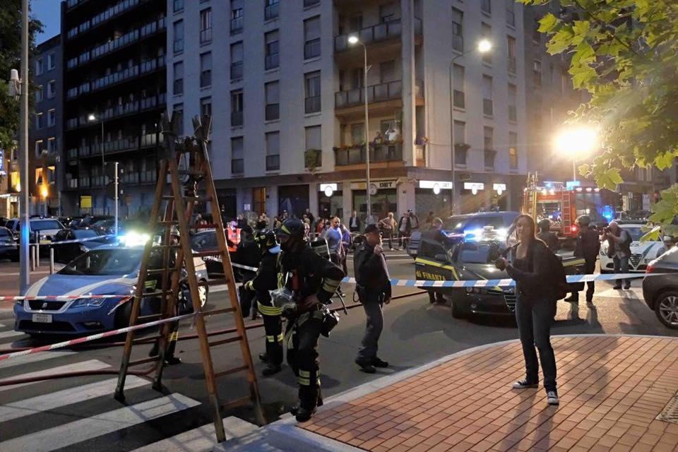 Esercitazione Metropolis, anti terrorismo a Milano davanti allo stadio San Siro: Fotogallery e video | Emergency Live 13
