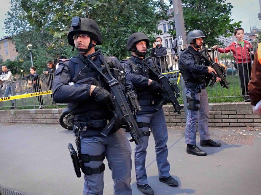 Esercitazione Metropolis, anti terrorismo a Milano davanti allo stadio San Siro: Fotogallery e video | Emergency Live 9