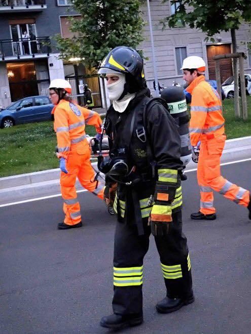 Esercitazione Metropolis, anti terrorismo a Milano davanti allo stadio San Siro: Fotogallery e video | Emergency Live 10
