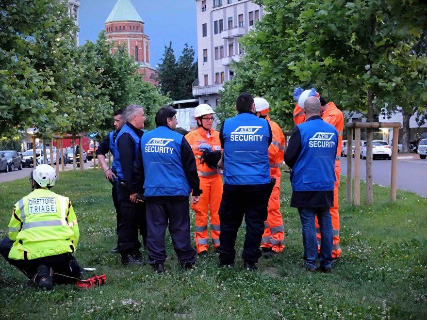 Esercitazione Metropolis, anti terrorismo a Milano davanti allo stadio San Siro: Fotogallery e video | Emergency Live 4