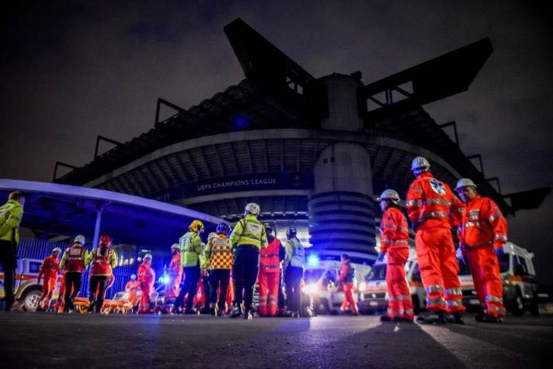 Esercitazione Metropolis, anti terrorismo a Milano davanti allo stadio San Siro: Fotogallery e video | Emergency Live 2