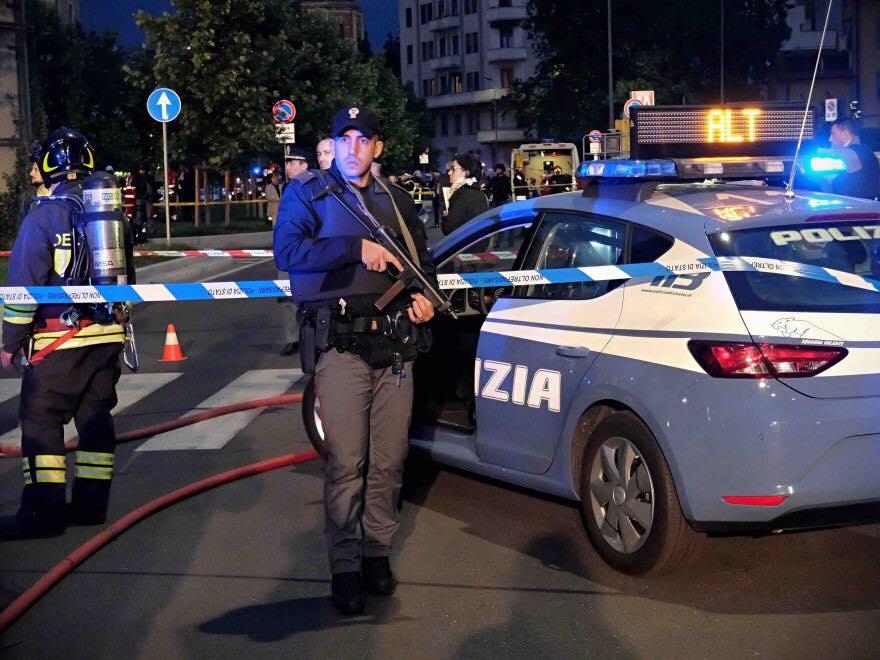 Esercitazione Metropolis, anti terrorismo a Milano davanti allo stadio San Siro: Fotogallery e video | Emergency Live 12