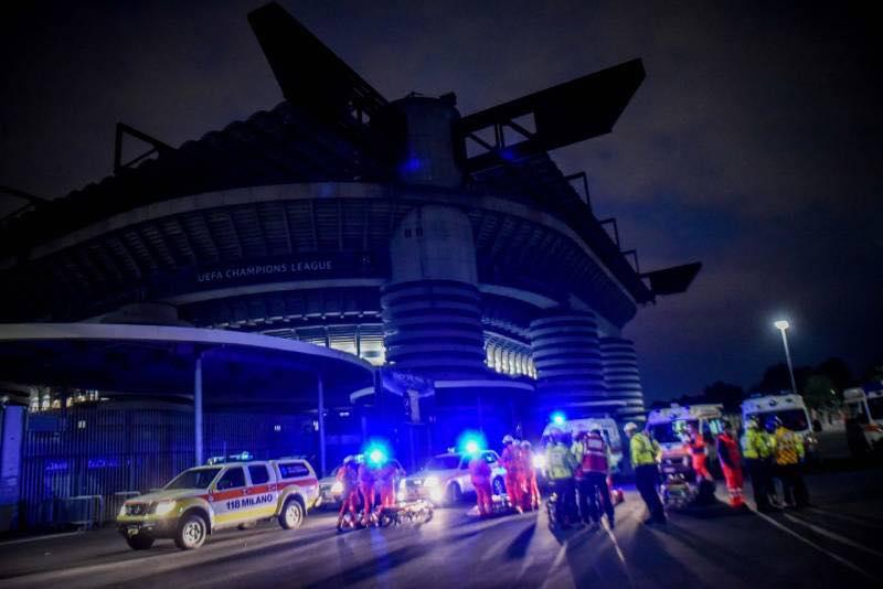 Esercitazione Metropolis, anti terrorismo a Milano davanti allo stadio San Siro: Fotogallery e video | Emergency Live 1