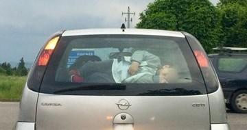 Cosa fai se vedi questo? Sicurezza dei bambini in auto, un problema serio di educazione
