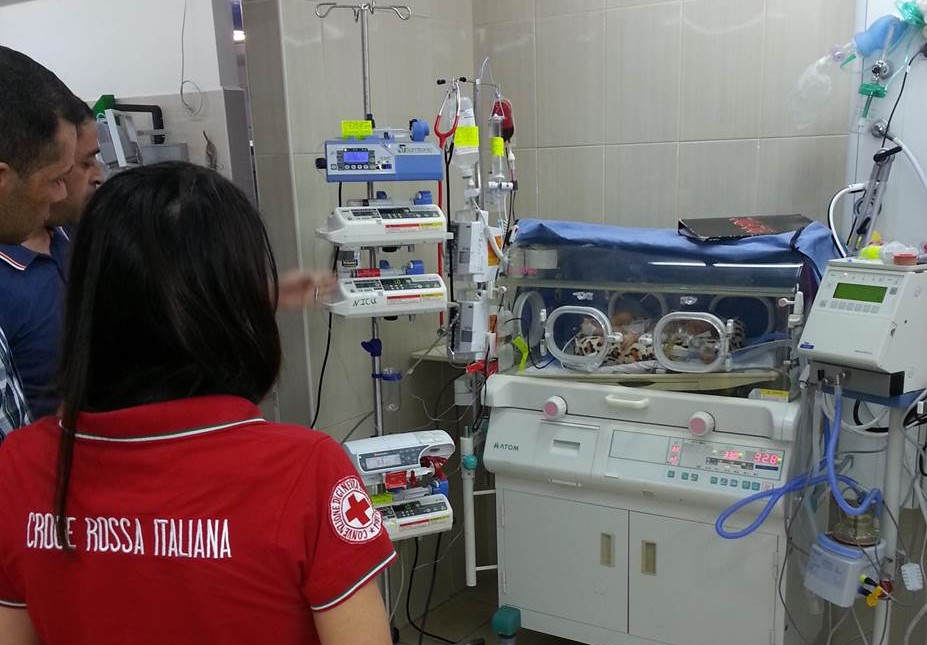 A Hebron la Croce Rossa Italiana da un futuro ai bambini che futuro non hanno, con un nuovo ospedale
