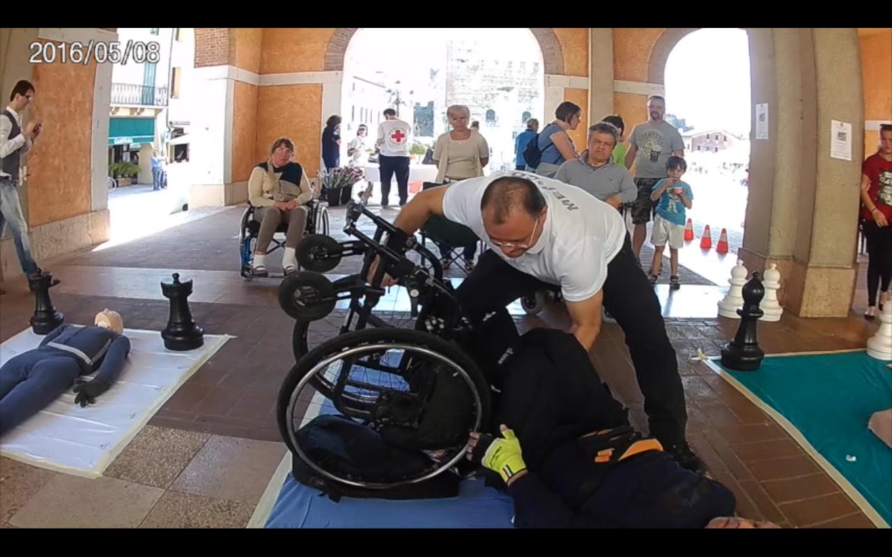 Marosticabile, oltre la disabilità per salvare una vita
