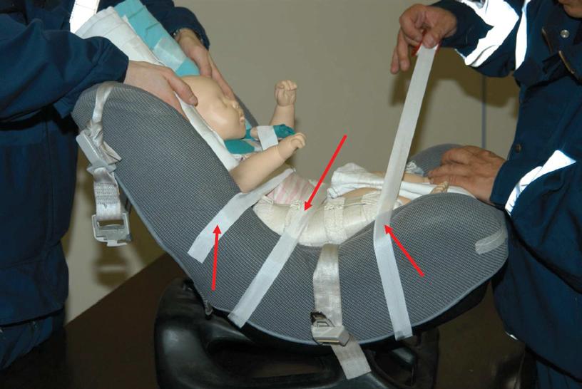 TSSA – Manovre pediatriche: l'immobilizzazione nel trauma dal neonato al bambino