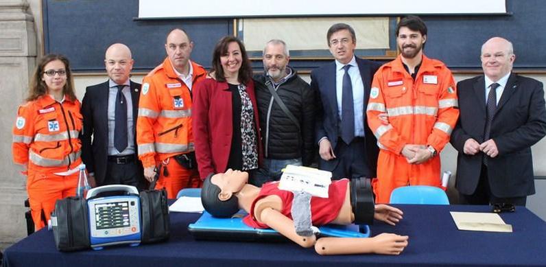 """Massaggio RCP automatico, a Brescia parte il progetto """"Codice Viola"""""""