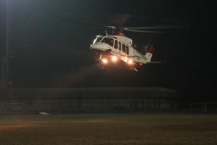 Campi da calcio: nuove piste d'atterraggio per l'elisoccorso notturno