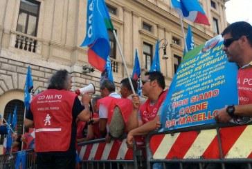 """VIGILI FUOCO – PROTESTA CONAPO A MINISTERO MADIA: """"STANCHI DI ESSERE PRESI A PESCI IN FACCIA DAI POLITICI"""""""
