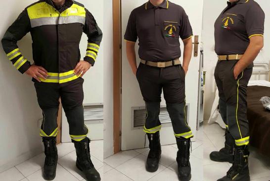 Vigili del Fuoco, nuove uniformi e nuove magliette polo ignifughe: che ne pensate?