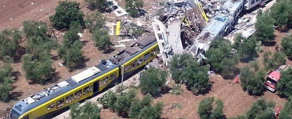 Maxi emergenza a Corato, Puglia: incidente ferroviario con 27 morti e 50 feriti