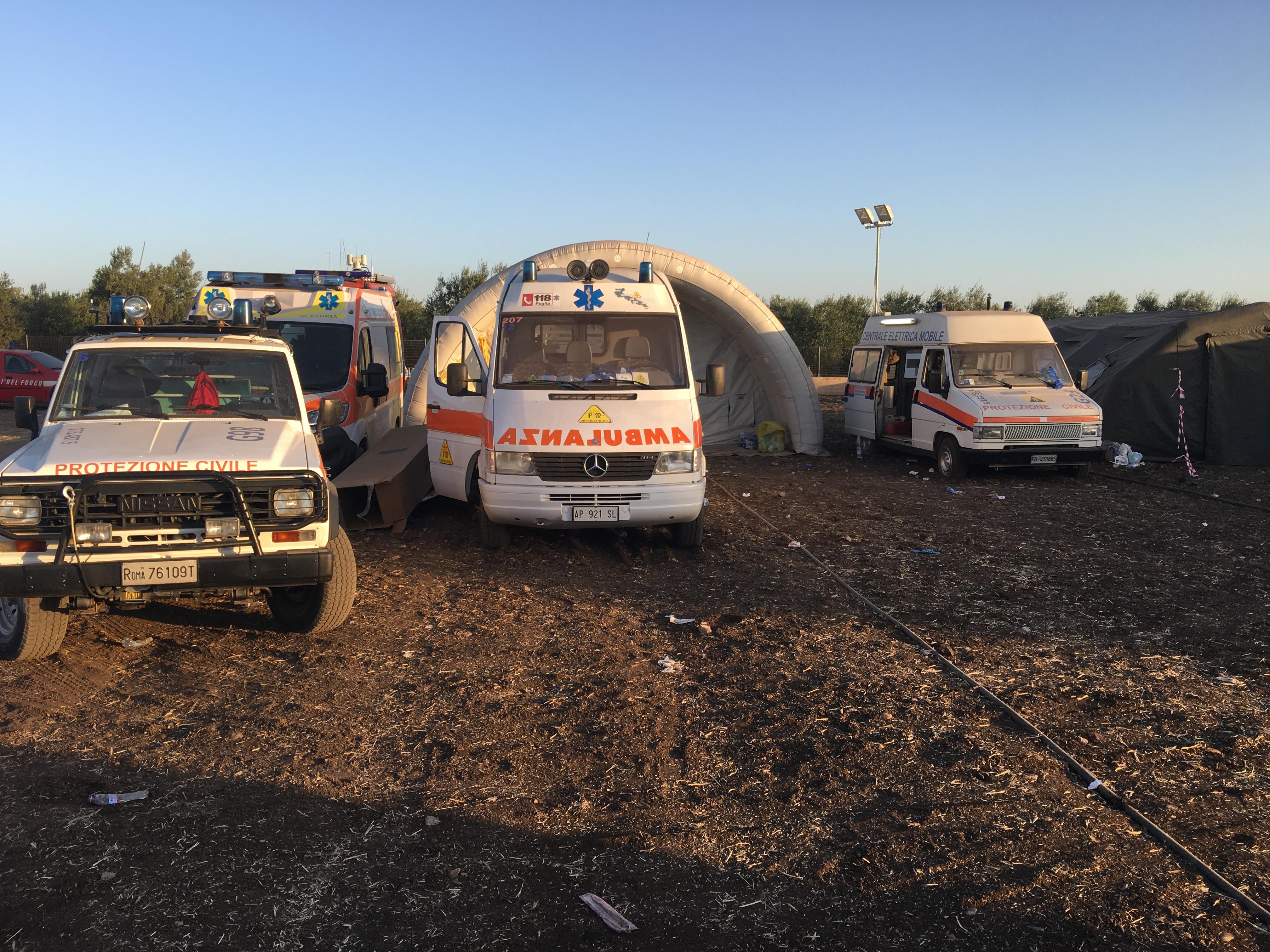 La strage ferroviaria di Corato: il report dalle prime ambulanze sul posto, della Misericordia di Andria   Emergency Live 2