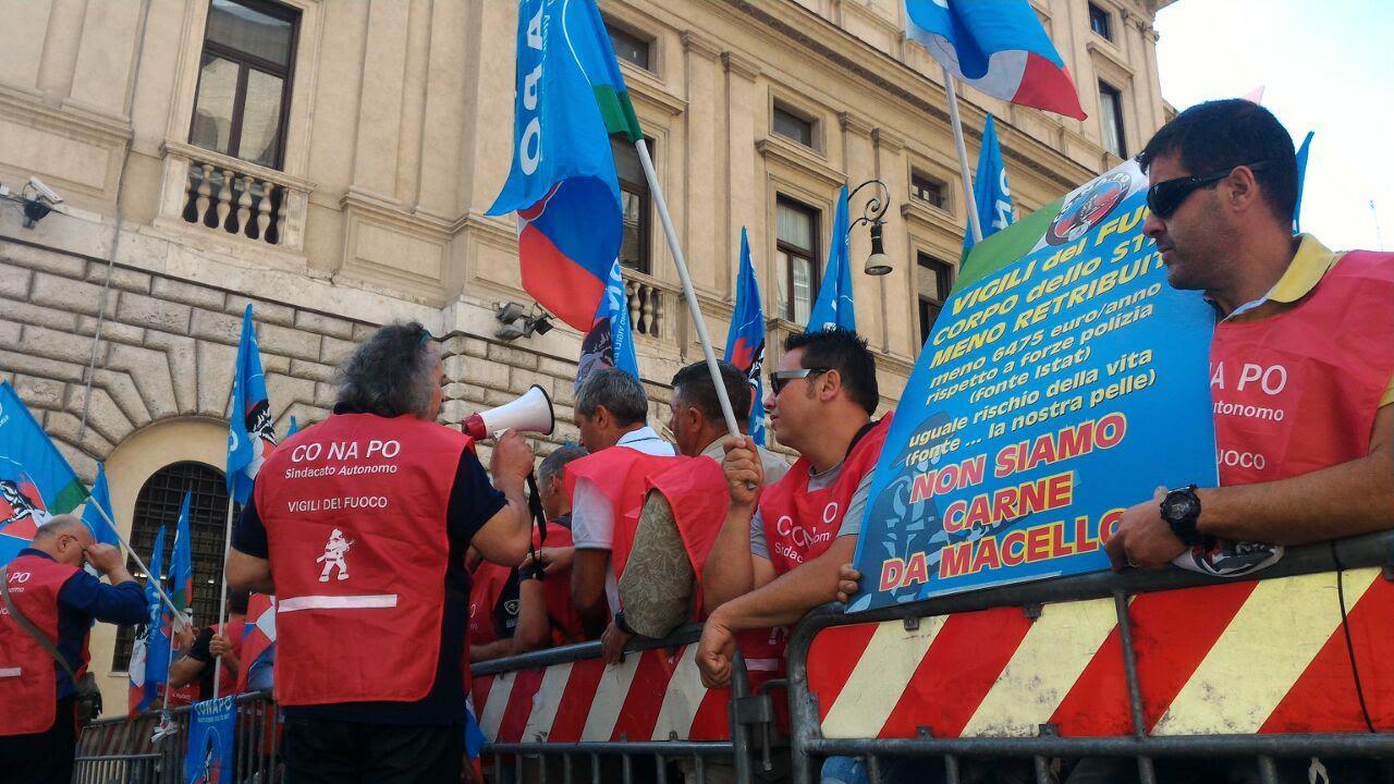 CONAPO, Vigili del Fuoco in sciopero stamattina