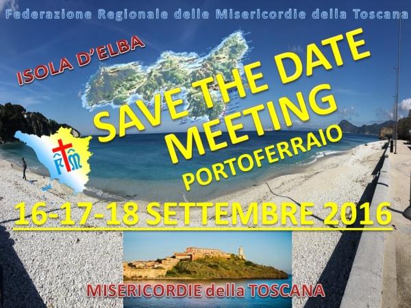 Meeting delle Misericordie Toscane: 16 – 18 Settembre a Portoferraio