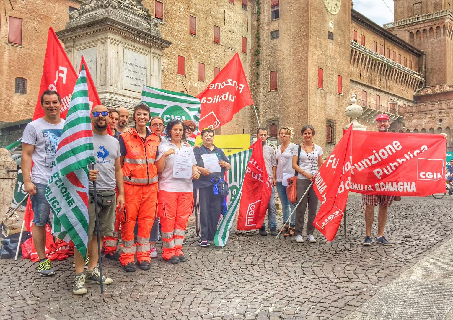 118 e volontariato, a Ferrara è caos. Il nuovo affidamento scatena le proteste dei lavoratori professionisti