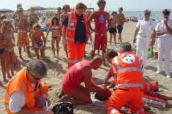 soccorritori picchiati