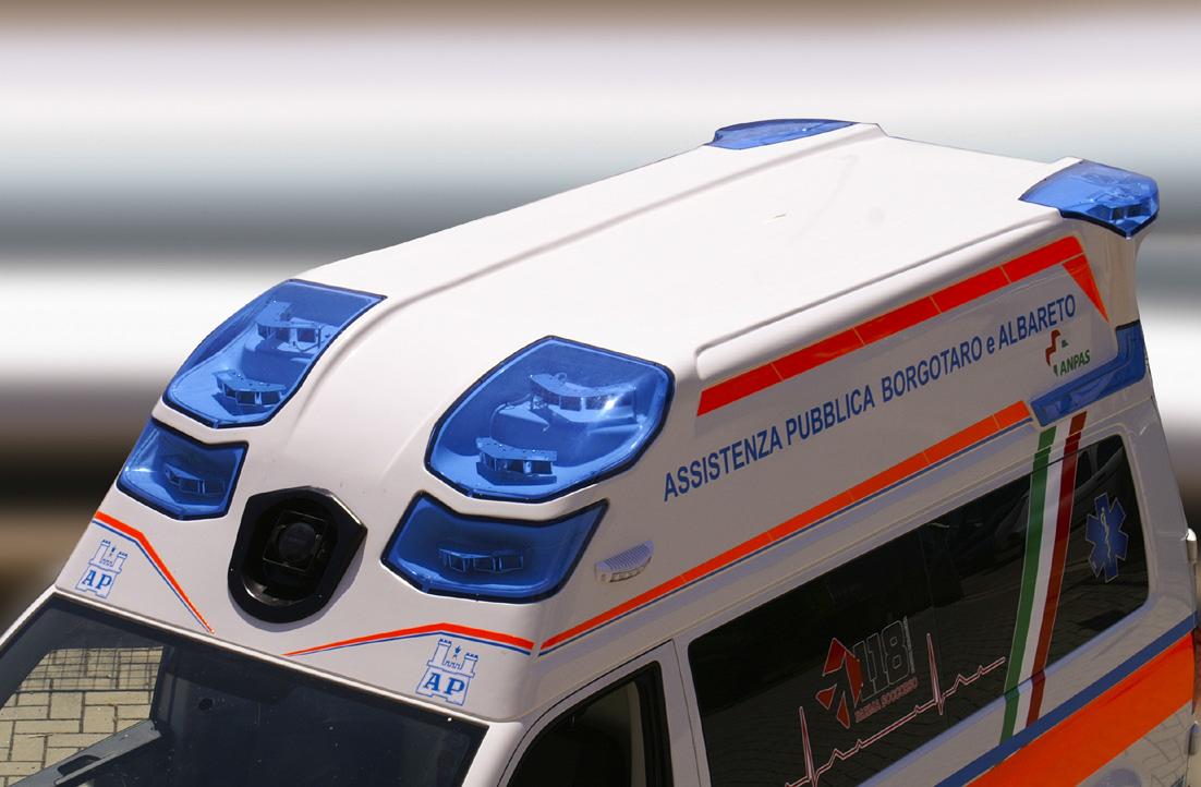 Pronti, via... la nuova ambulanza EDM da oggi al tuo servizio! | Emergency Live 4