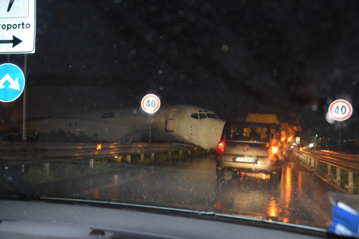Incidente aereo a Bergamo, fuoripista senza feriti