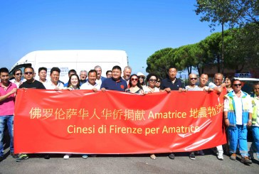Associazioni Cinesi Fiorentine e Misericordie insieme per sostenere le vittime del terremoto
