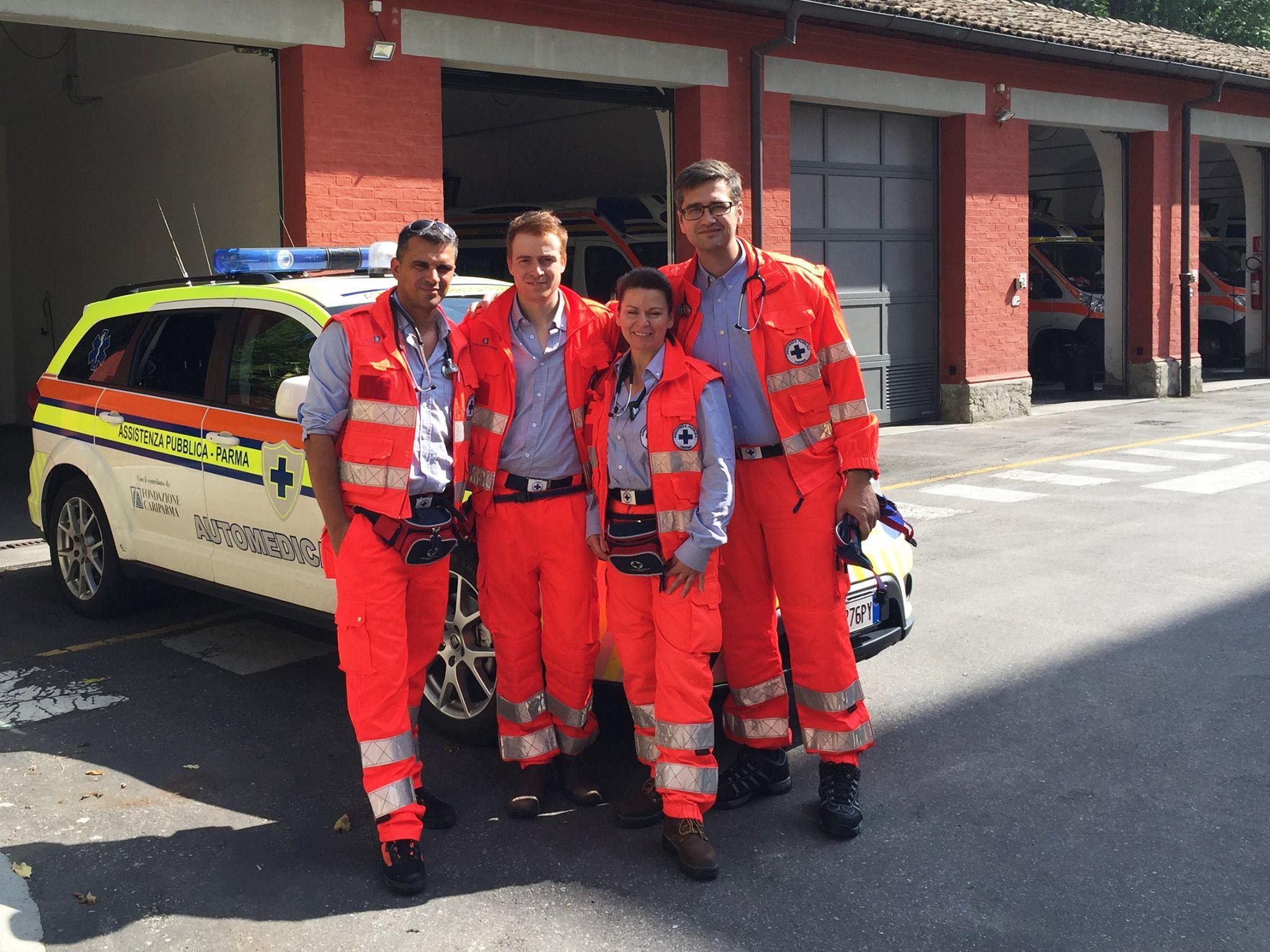 Dal Canada all'Italia per studiare i sistemi di emergenza: