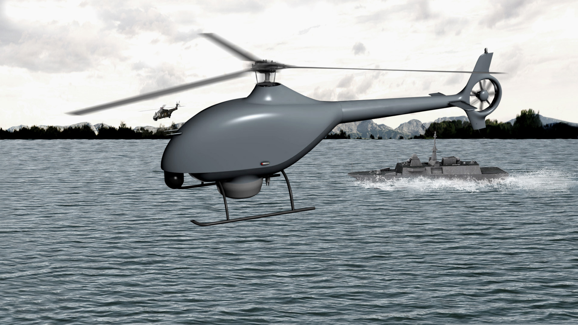 Futuro drone-elicottero tattico della Marina Militare Francese: partnership tra DCNS ed Airbus Helicopters