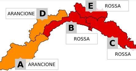 Maltempo: diretta delle allerte meteo in Italia. Speciale Liguria