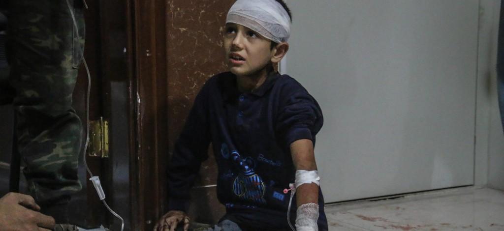 """Con Gli Occhi della Guerra """"Il massacro (dimenticato) di bambini"""""""