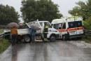 """Il pericolo del """"viscoplaning"""" e """"acquaplaning"""" nella guida dei veicoli di emergenza"""