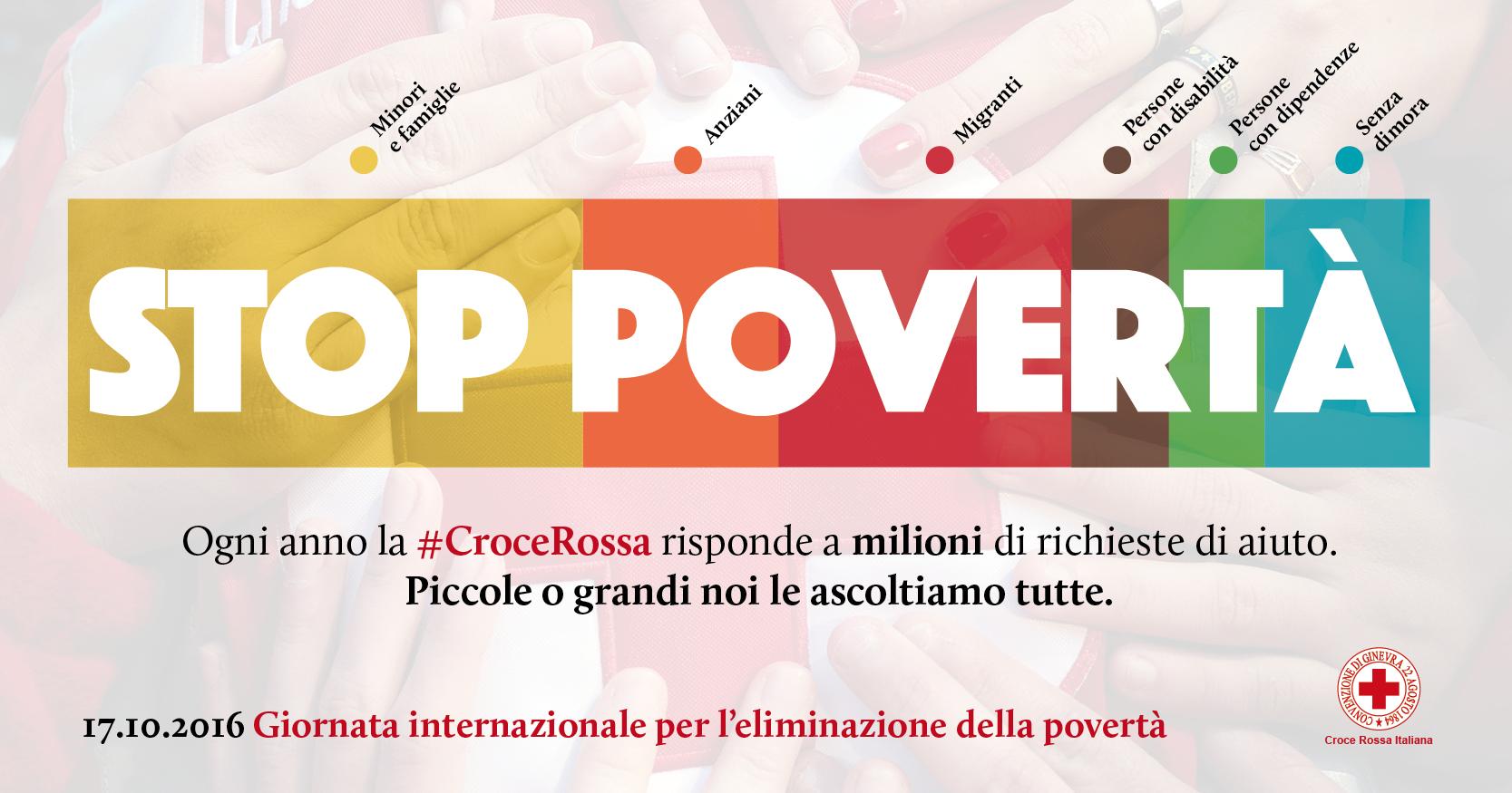Giornata mondiale contro la povertà, la Croce Rossa forma 400 volontari per l'assistenza ai senza dimora