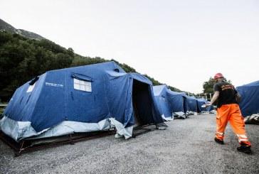 Terremoto, calano le persone assistite in centro Italia