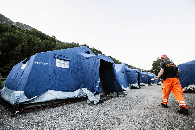 Terremoto centro Italia: l'assistenza alla popolazione