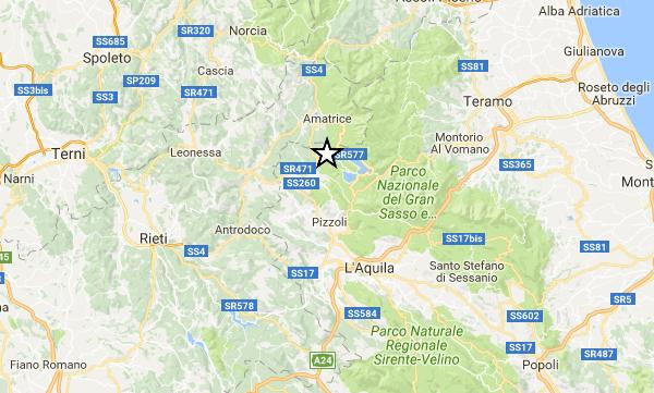 Terremoto, ancora paura fra L'Aquila e Amatrice. Scossa di magnitudo 4.4