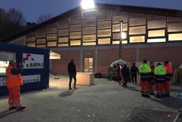 Terremoto Centro Italia: continua anche a Natale l'assistenza e il soccorso dei volontari Anpas