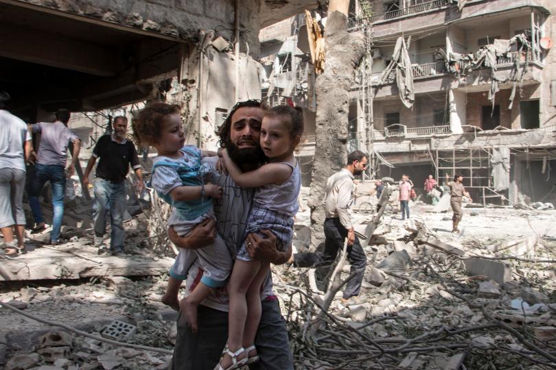 """Aleppo; Appello della Croce Rossa: """"Risparmiate i civili"""""""