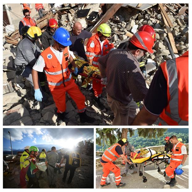 Terremoto Reatino 24 agosto 2016 Collage Finale