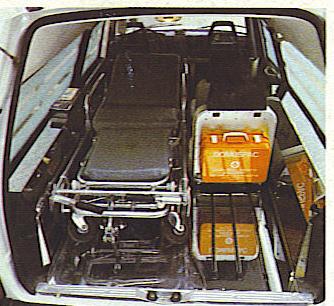 Foto 25:  Volvo 245 rilevata da familiare, anche questo studiato in collaborazione con la casa madre -foto da depliant M.A.F.