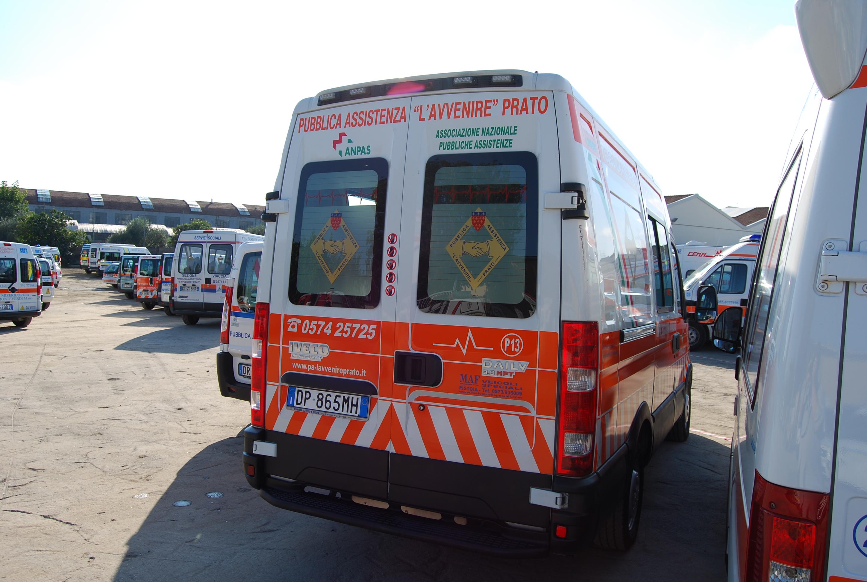 Foto 116: di questa serie MAF realizzò anche ambulanze e trasporto disabili in versione ibrida (elettrica e diesel) che però data la limitata diffusione delle colonnine di ricarica e la destinazione prevalente ai viaggi a lungo raggio non ha riscosso il successo sperato – foto ADG