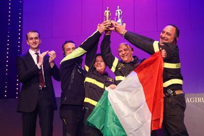 Germania, i vigili del fuoco italiani premiati come i migliori del mondo