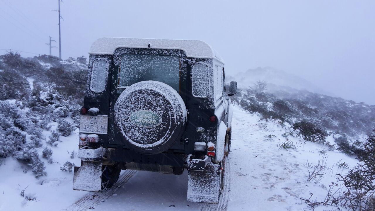 L'emergenza neve in Sardegna. Ecco il report di un intervento di soccorso