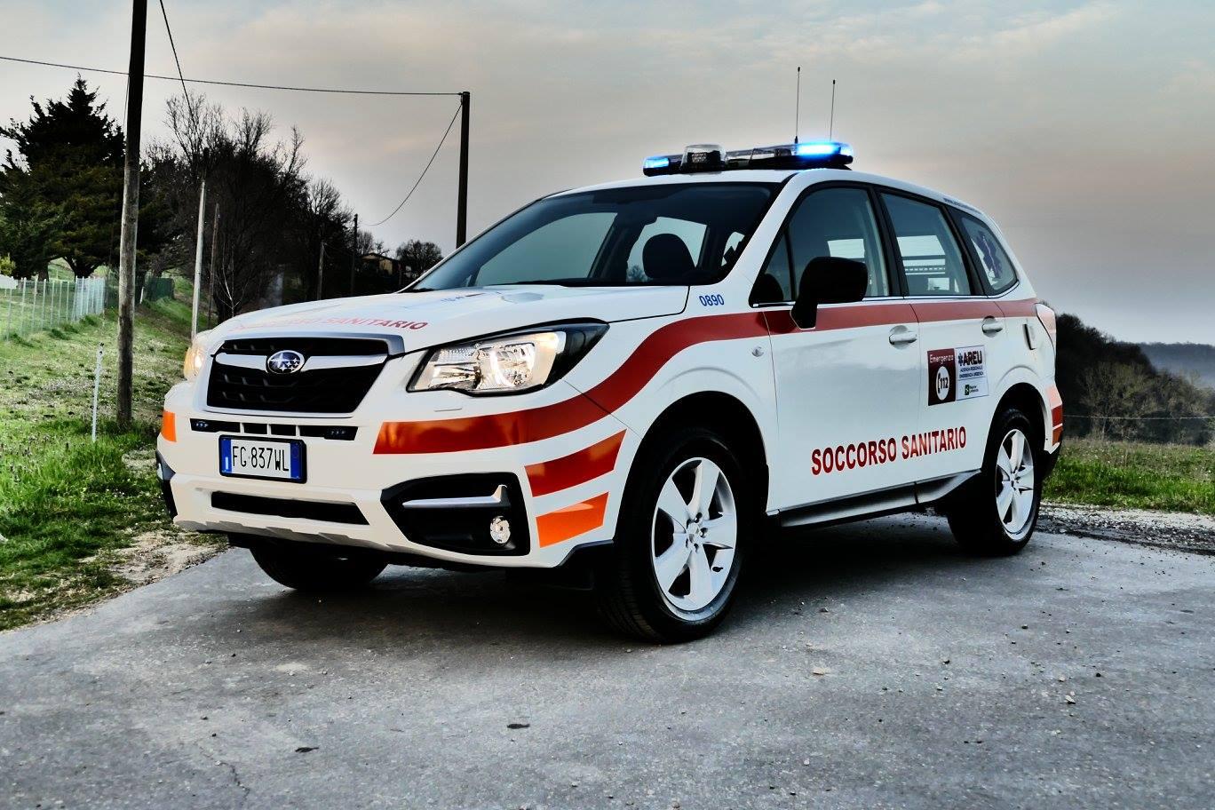 Sono arrivate le prime automediche NUE112, il debutto in Lombardia con Papa Francesco è stato un successo