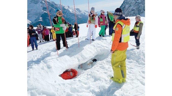 soccorso alpino bambini