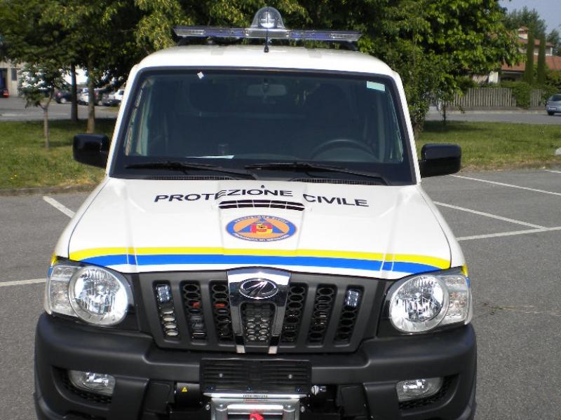 mezzi protezione civile