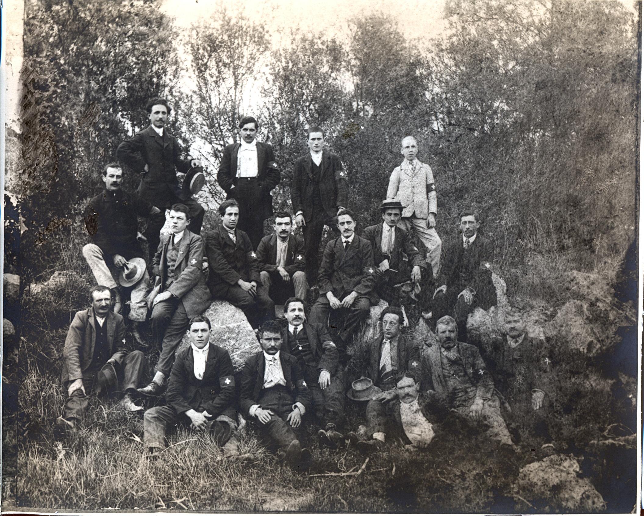 Storia delle associazioni d'Italia: La Croce Bianca di Albenga | Emergency Live 1