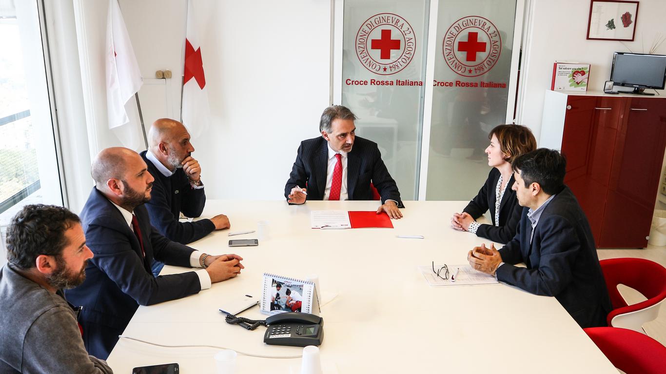 Terremoto Centro Italia e Croce Rossa: costruzione del nuovo centro polifunzionale di Amatrice