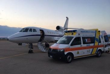 Aeronautica Militare: nuovo volo salvavita per un bimbo di 18 mesi