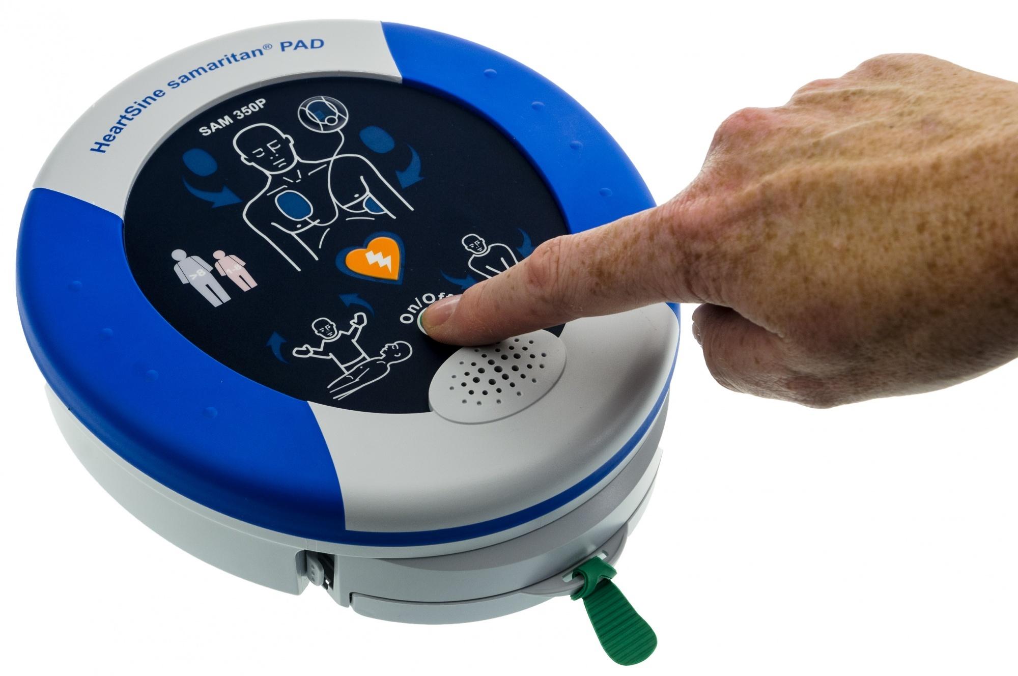 Il defibrillatore per esterni: HeartSine samaritan PAD 350P come funziona e dove acquistarlo? | Emergency Live 7
