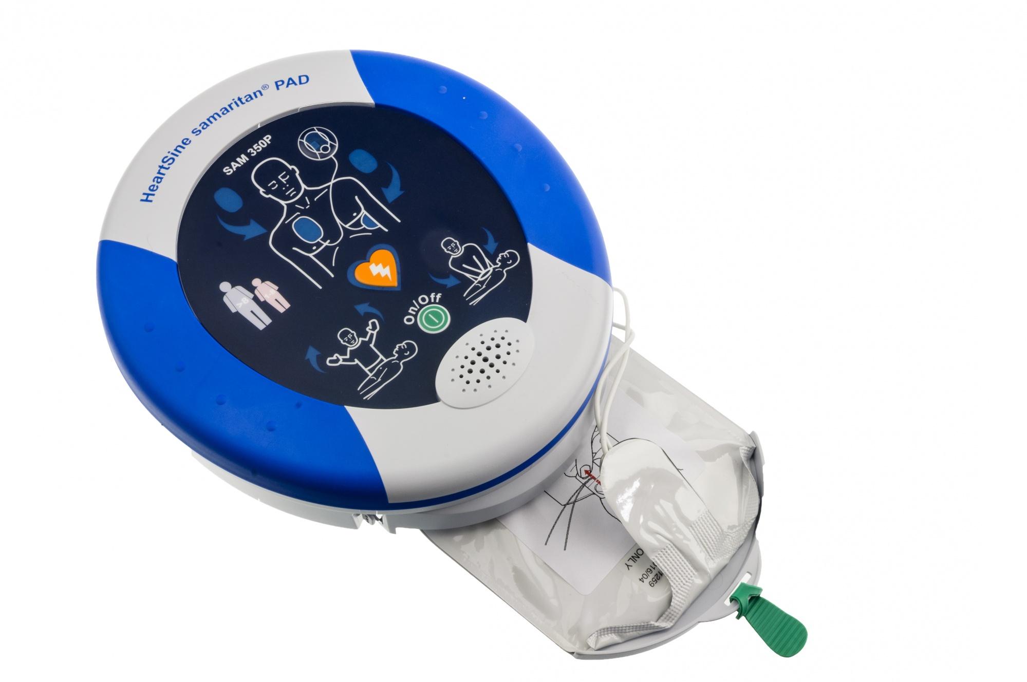 Il defibrillatore per esterni: HeartSine samaritan PAD 350P come funziona e dove acquistarlo? | Emergency Live 6