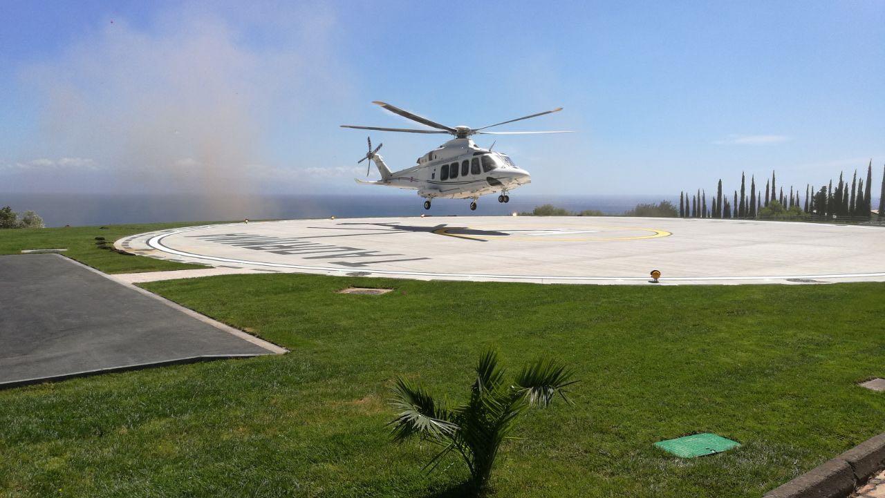 G7, a Taormina collaudata dall'Aeronautica Militare la piazzola elicotteristica per la sicurezza del summit