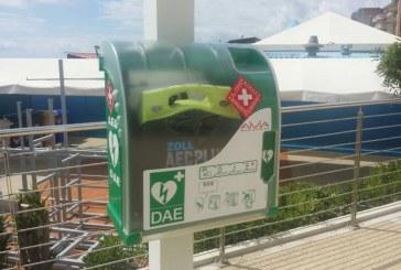 Defibrillatore ZOLL donato dalla Croce Bianca installato a Borghetto